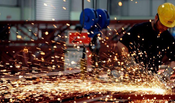 İSO Turkiye İmalat PMI Kasım'da 44,7'ye yükseldi