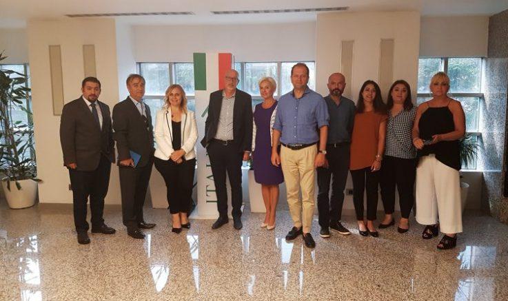Sektör, İtalya temsilcileri ile bir araya geldi