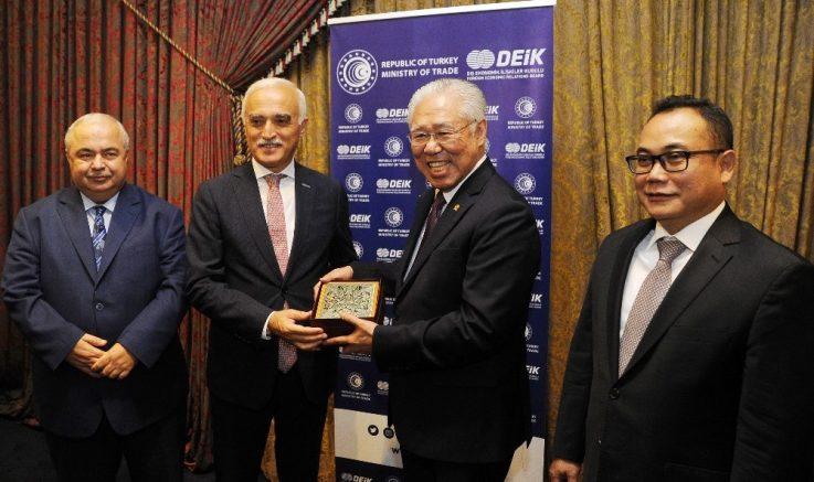 Türkiye ile Endonezya arasındaki ticaret hacminin artması hedefleniyor