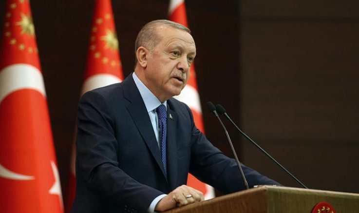 """Cumhurbaşkanı Erdoğan, korona virüse karşı """"Ekonomik İstikrar Kalkanı"""" paketini açıkladı"""